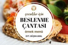 beslenme çantası Sample Menu, Fast Easy Meals, Quick Recipes, Yummy Recipes, Food For A Crowd, Dietitian, Shrimp Recipes, Lunch Box, Lunch Menu