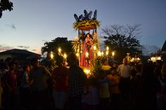 For several days in the summer, many Filipinos leave the city and depart for their hometowns to participate or at least witness the spectacles of Holy Week in the provinces. Shown is one such scene in Lumban, Laguna, featuring Catholics in a Good Friday procession. (Euan Añonuevo. InterAksyon.com) Philippines Culture, Holy Week, Good Friday, The Province, Filipino, Catholic, Scene, World, City