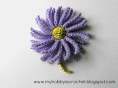 5 Free Crochet Flower Pattern Links this takes you to the link for this flower