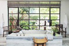 Ellen DeGeneres and Portia de Rossi at Home in Beverly Hills | Architectural Digest