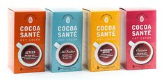 Cocoa Santé Hot Cocoa on Packaging of the World - Creative Package Design Gallery