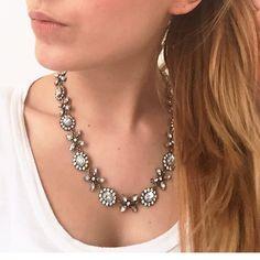 Jasmine Blossom Statement #Necklace 22,90 € #happinessbtq