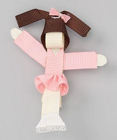 Take a look at this Pink Black-Haired Ice Skater Clip by The Hair Candy Store on #zulily today! http://www.thehaircandystore.com