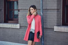 Pink coat from Cupcakes and Cashmere collection!