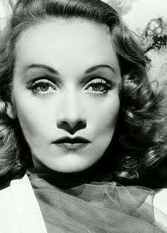 Marlene Dietrich. More