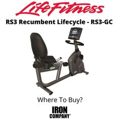 The RS3 Lifecycle from Life Fitness is a self-powered recumbent exercise bike with step-through design which provides a relaxed body position and stability ideal for home exercisers of all fitness levels. The sleek bike frame is based upon the proven design of Lifecycle bikes in the best health clubs and gyms. The step-thru design with deluxe dual grip front handlebar allows for easy entry and exit. Recumbent Bike Workout, Cardio Equipment, Easy Entry, Bike Frame, Health Club, Stability, Exercise, Gym, Fitness