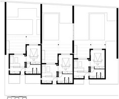 Image 29 of 46 from gallery of Casa Cook Kos Hotel / Mastrominas ARChitecture. Photograph by George Fakaros Architecture Site, Architecture Restaurant, Restaurant Floor Plan, Hotel Floor Plan, Kos Hotel, Hotel Suites, Bungalows, Casa Cook Hotel, Plan Maestro