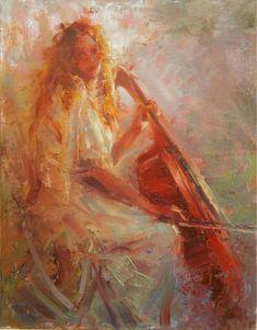 ♪ The Musical Arts ♪ music musician paintings - Robert Krogle