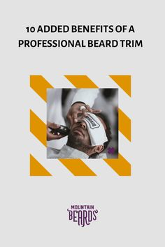 Sometimes you want to treat yourself with a professional beard trim. It can be a luxurious and relaxing experience. But that is not the only reason people choose to go to a pro. The added benefits of a professional beard trim are various. Find out here! #beard #beardtrimming Beard Trimming Guide, Beard Trimming Styles, Hair And Beard Styles, Mens Beard Grooming, Men's Grooming, Trim Beard Neckline, Professional Beard, Beard Shapes, Best Barber