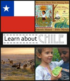 Learn about Chile: geography, cultural info, their famous llamas, a snack, and more!