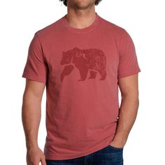 The Normal Brand Crimson Bear T-Shirt