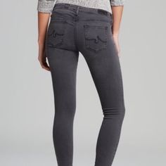 """NWT AG Extreme Skinny Gray Jeans NWT """"The Absolute Legging"""" Extreme Skinny in gray. Measurements on request. AG Adriano Goldschmied Jeans Skinny"""
