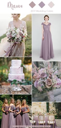 Top 10 Wedding Colors for 2019 Trends with Bridesmaid Dresses 2dd20e971635
