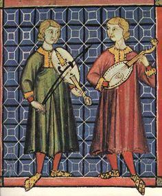 Miniatura delle Cantigas de Santa Maria. 1280 - Miniature of the Cantigas de Santa Maria 1280