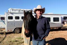 Bob Holder at Mount Isa Rodeo