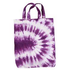 Spiral Tie-Dye Tote Bag
