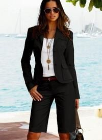 Офисные женские шорты бермуды