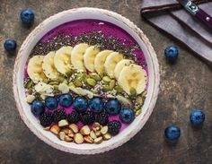 Below are a few of my favorite high-volume and high-protein recipes. The smoothie bowls and chia seed pudding recipes are perfect for making ahead of time to grab and go!