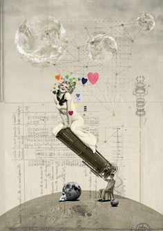 Kacper Kiec, del collage a la ilustración sin despeinarse | Singular Graphic Design