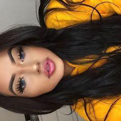 Natural makeup for blue eyes - make-up. Full Face Makeup, Blue Eye Makeup, Skin Makeup, Beauty Make-up, Beauty Hacks, Hair Beauty, Make Up Looks, Cute Makeup, Pretty Makeup