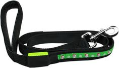 Collar Planet - LED Dog Leash Santa (http://www.collarplanetonline.com/led-dog-leash-santa/) Light up your Christmas Holiday with this LED Dog Leash that has a high quality ribbon overlay of Santa on a durable nylon base.