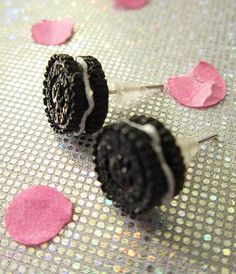 Most Clicked Etsy/Business Link: Miss Maggies Place linked up these adorable  Oreo Style earrings-Tween & Teen Jewelry.