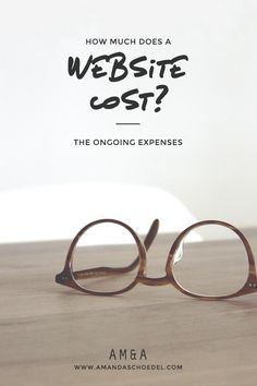 The ongoing costs of owning a website