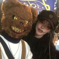 Ulzzang Korean Girl, Ulzzang Couple, Cute Asian Girls, Cute Girls, Uzzlang Girl, Bad Girl Aesthetic, Grunge Girl, Pretty Asian, Halloween Disfraces