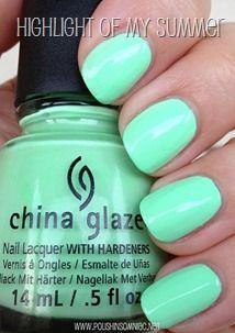 China Glaze: Highlight of My Summer