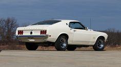 1969 Ford Mustang Boss 429 in Wimbledon White - KK 1856