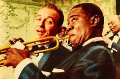 Bing Crosby and Louis Armstrong