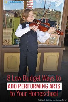 8 Low Budget Ways to Add Performing Arts to Your Homeschool Homeschool Curriculum, Homeschooling, Teaching Music, Performing Arts, Educational Activities, Budgeting, Frugal, Advice, Unit Studies