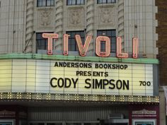 Cody Simpson was at our Classic Cinemas Tivoli Theatre on 10/22/2013