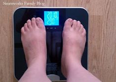 GetFit Digital Body Fat Scale #Review from Simmworks Family Blog!