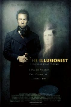 """The Illusionist"" - Just love this movie The Illusionist, 3 Movie, Movies Worth Watching, Peonies Garden, Cinema Movies, Period Dramas, Great Movies, Just Love, Over The Years"