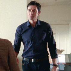 Richard Armitage as Lucas North in Spooks/MI-5 (2008-2010) (gif)