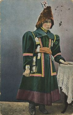 Jakutin aus Nordsibirien, Rußland, Postkarte, ca. 1900