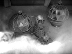 """Merrick here with a look at """"The Chase,"""" a Hartnell-era DOCTOR WHO story which transmitted May-June Terry Nation is credited with scripting this tale, although the DVD's extras imply more than one person may ultimately have had a."""