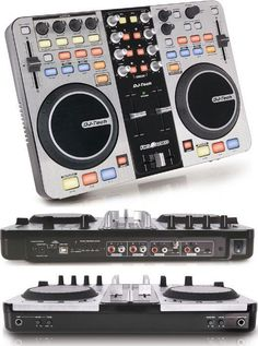 6-Deck USB DJ Controller w/Audio Interface Built-in, supports Midi over USB