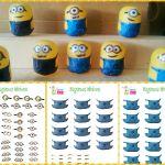 Stickers imprimibles para hacer Minions con Huevos Kinder | Tiempo para Jugar