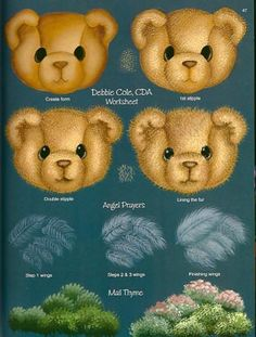 Teddy Treasures... by a bear-loving trio (Bradshaw, Cole, & Michell)
