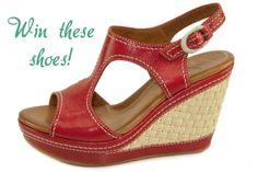 Naya shoes giveaway on The Violet! Go enter!