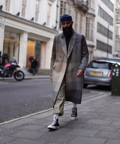 30 Trendy How To Wear Converse High Tops Men Menswear Urban Fashion, Mens Fashion, Fashion Outfits, Men Street, Street Wear, Style Hipster, Style Streetwear, Outfits Hombre, La Mode Masculine