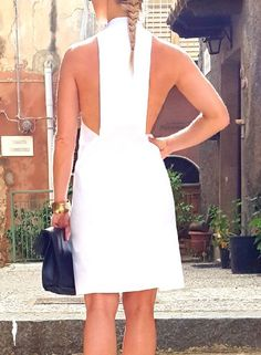 Don't wait for tommorow, make today incredibly amazing in this awesome dress. Embrace your power and catch your moment of fame. Little Dresses, Nice Dresses, Dutch, White Dress, Classy, Blouse, Sexy, Model, Fashion