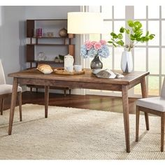 Simple Living Element Mid-Century Dining Table