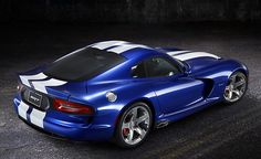 Dodge Viper GTS SRT Launch Edition