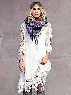 Free People Mi Amore Lace Dress at Free People Clothing Boutique
