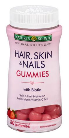 Nature's Bounty Hair, Skin  Nails - I take these supplements and have for years. I guess they work because my hair is LONG! ; )
