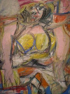 Willem De Kooning   www.artexperiencenyc.com