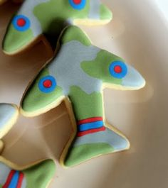 Airplane (military) cookies